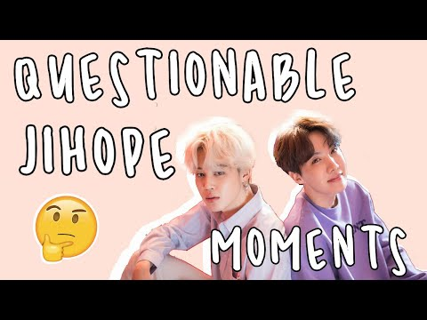 very questionable jihope moments