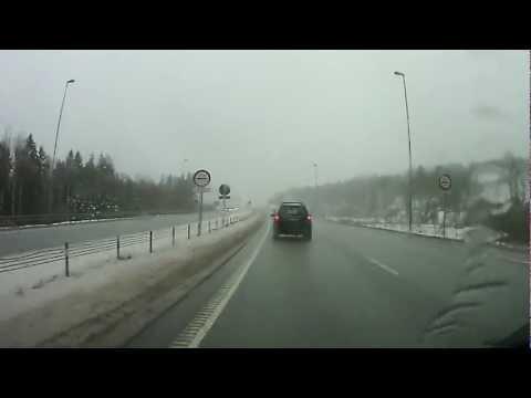 The border between Norway and Sweden.
