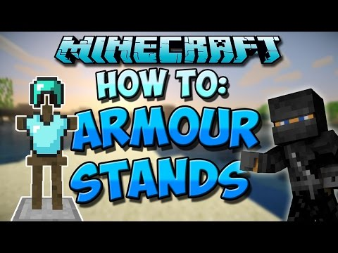 How To Make An Armor Stand in Minecraft | 1.8 Tutorial