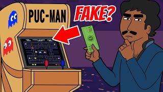 PacMan Arcade Machine Prank