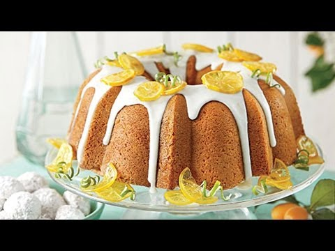 How To Make Lemon-Lime Pound Cake | Southern Living