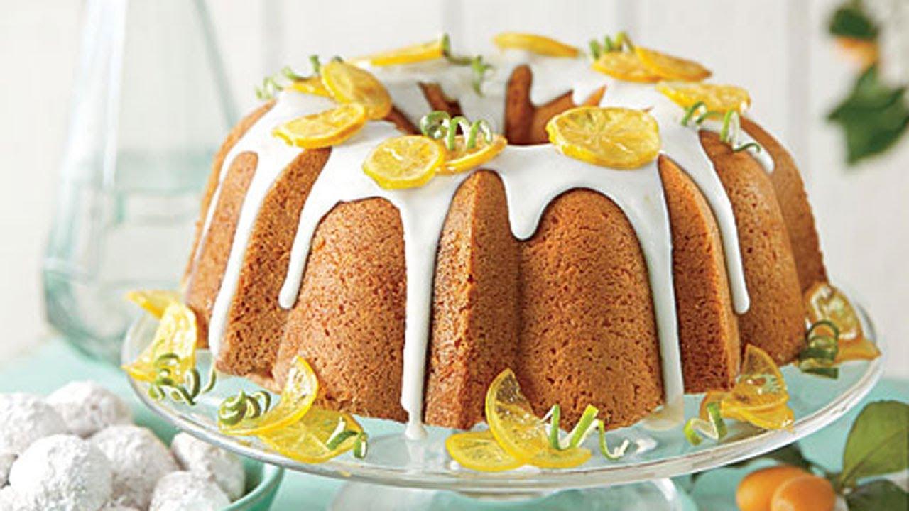 How To Make Lemon Lime Pound Cake Southern Living Youtube