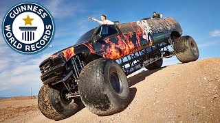 Longest monster truck - Meet the Record Breakers