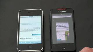 iPhone 3GS Vs. HTC Droid Incredible