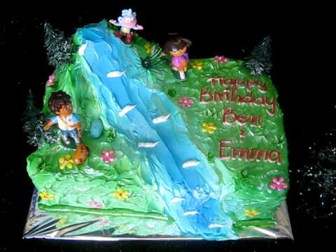 Happy Birthday Cake From Bamboo Bakery Phoenix Arizona YouTube
