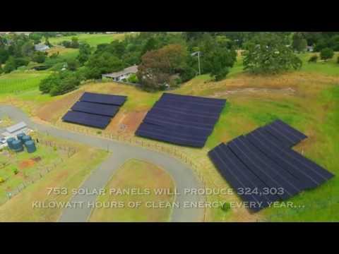 Sonoma Academy Solar Power Installation