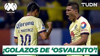 ¡Golazos con clase! Los goles de Osvaldito Martínez en el América | TUDN
