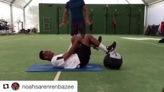 Noah Joel Sarenren Bazee Training