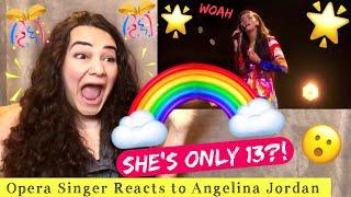 Opera Singer Reacts to Angelina Jordan - Bohemian Rhapsody - America's Got Talent (2020)