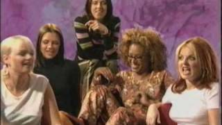 One of the funniest interviews I've ever seen - the spice girls bei...