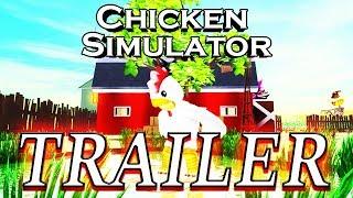 TRAILER: CHICKEN SIMULATOR ROBLOX. Hilariante jogo por WildGuest