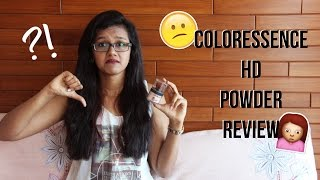 Coloressence HD powder review Disha Gangar