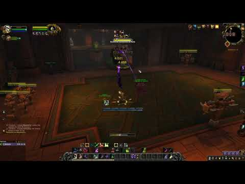 BFA Affliction warlock rotation