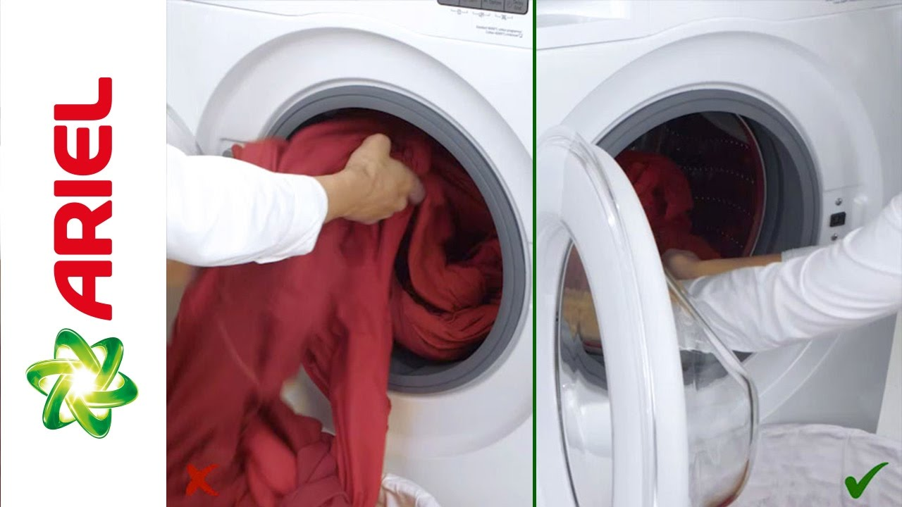 How to Avoid Overloading Your Washing Machine | Ariel