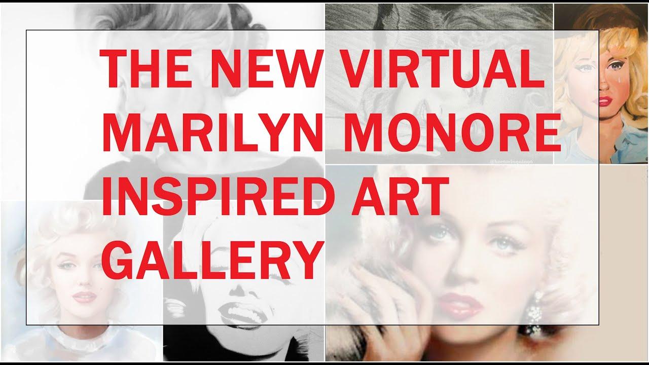 HUGE ANNOUNCEMENT!  🎨 The New Virtual Marilyn Monroe Art Gallery Coming Soon 🎨