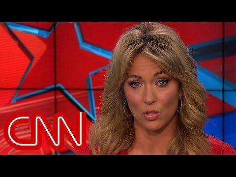 Brooke Baldwin: Trumps hoax comment is disgraceful