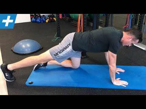 Leg Slide (4 Point) for Lumbar Spine Stabilisation | Feat. Tim Keeley | No.209 | Physio REHAB