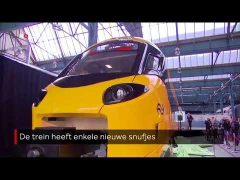 Zo Ziet De Nieuwe Intercity Van Ns Er Uit Youtube
