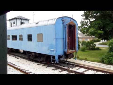 Thumbnail: Coopersville Marne Railway General Motors SW9 switcher locomotive Grand Trunk Railroad Vintage Train