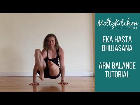 Eka Hasta Bhujasana Arm Balance Yoga Tutorial