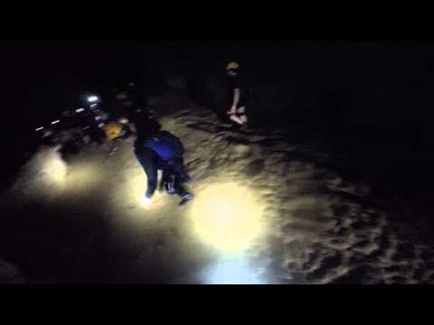 Caving in the Rio de Camuy Cave system in Puerto Rico Aventu