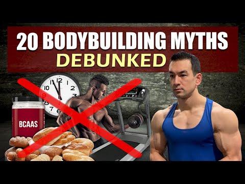 20 Common Bodybuilding Myths Debunked
