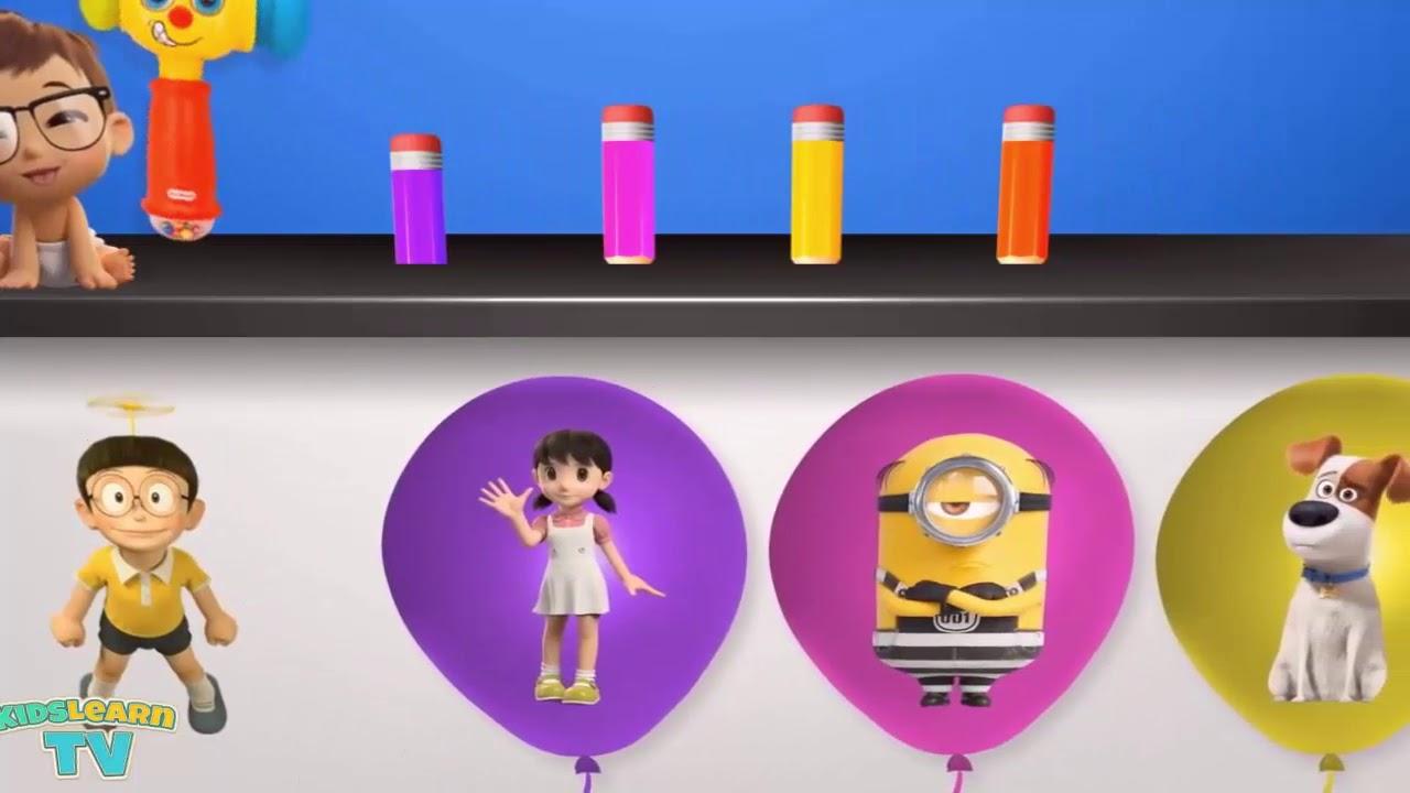 Belajar Warna Untuk Anak Balita Mengenal Warna Pada