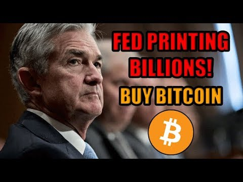 🔴BREAKING! The Fed Has Started Printing BILLIONS Of $$$. Quantitative Easing Imminent. Buy Bitcoin