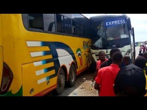Download AJARI MBAYA YA MABASI KVC safari na KMC express Chalinze