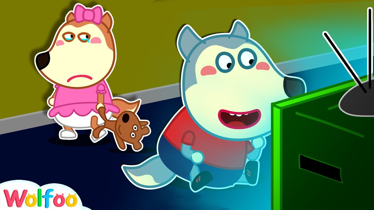 Don't Watch Too Much TV, Wolfoo! Wolfoo Learns Good Habits for Kids | Wolfoo Family Kids Cartoon