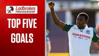 Tavernier Free kick and Burkes equaliser! | Top Five Goals (Week 6) | Ladbrokes Premiership