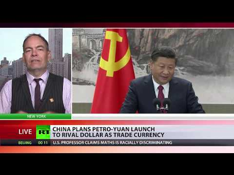 Max Keiser comments on China launching 'petro-yuan'