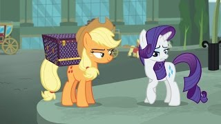 Applejack & Rarity - Did your cutie mark glow signifyin