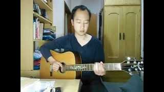 Open G tuning, key G. Like as Son House style. オープンGで 曲のキ...