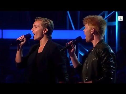 Når Himmelen Faller Ned - Audun Rensel & Pål Rake - The Voice Norge / Norway 2013 - Det snør (HD)