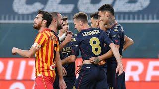 28/10/2020 genoa-catanzaro 2-1, terzo turno di coppa italia 20/21.
