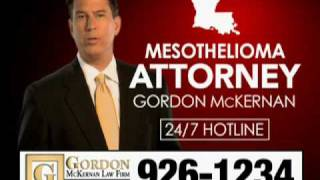Louisiana Mesothelioma & Social Security Attorney - Gordon McKernan - I Got Gordon