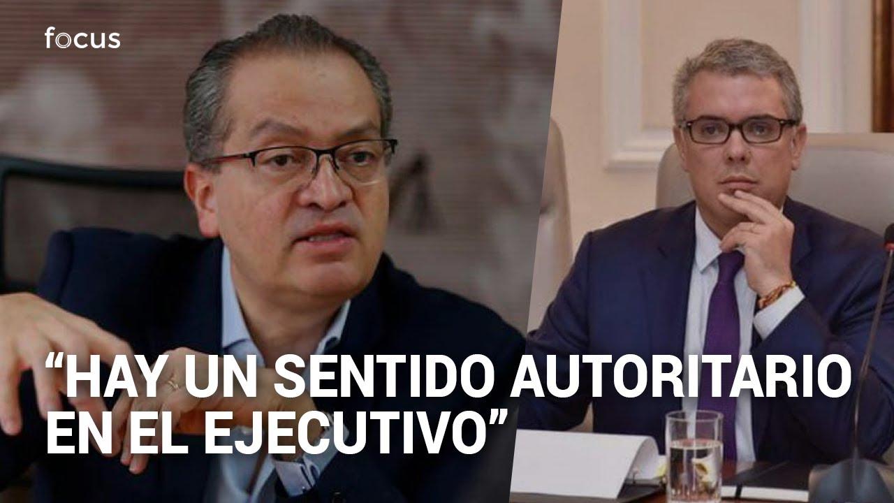 Las pullas del procurador Fernando Carrillo a Iván Duque y el Congreso