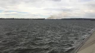 Foc de primavara pe lacul Cernica 2/2. 2-apr-2018