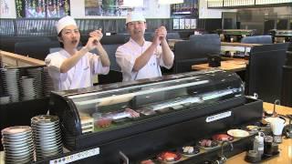富山のグレート回転寿司店「粋鮨」のファンキーなCMですw 唄と演奏はブ...
