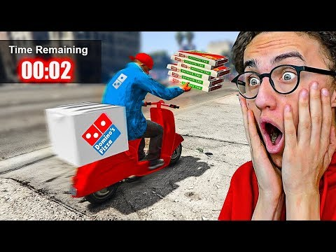 PLAYING GTA 5 AS A PIZZA DELIVERY BOY! (GTA 5 Mods)