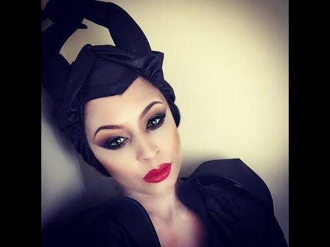Maleficent Halloween Costume Makeup Tutorial