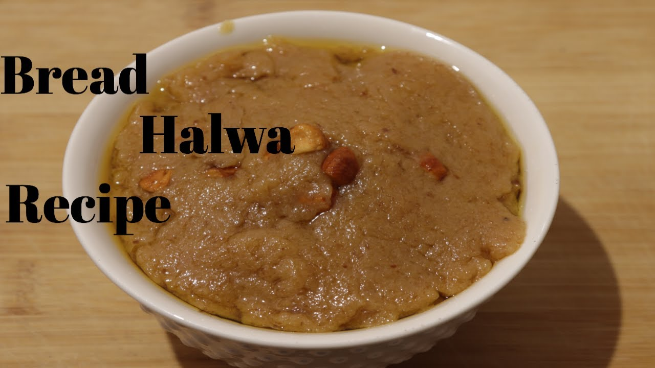 Bread Halwa recipe in Tamil/ Different sweet recipes - YouTube