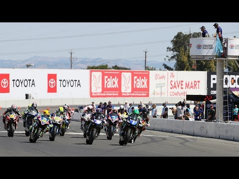 EBC Brakes Superbike Race 2 Highlights at The Cycle Gear Championship of Sonoma