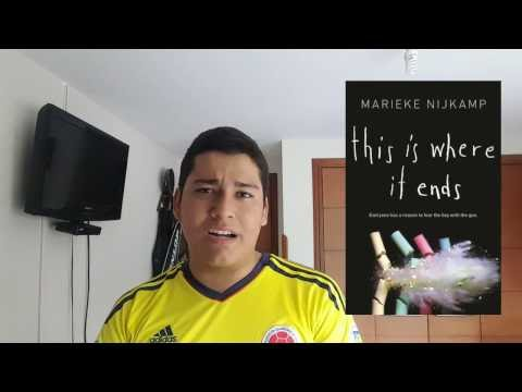 This is where it ends - Marieke Nijkamp | Booktube Colombia
