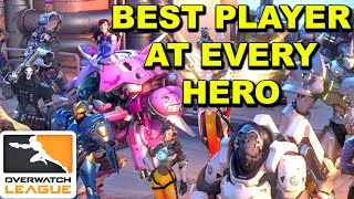 Best Player At Every Overwatch Hero In Overwatch League!