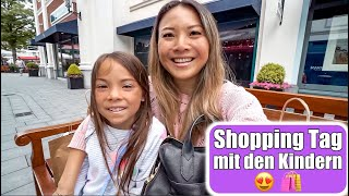 Ich raste aus 😱 Shopping Tag mit den Kindern! XXL Outlet Sommer Fashion Haul VLOG | Mamiseelen