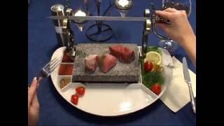 видео гриль на камнях