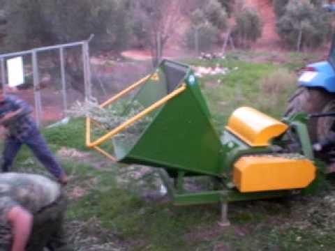 Trituradora astilladora picadora de ramas en biomasa - Trituradora de ramas casera ...