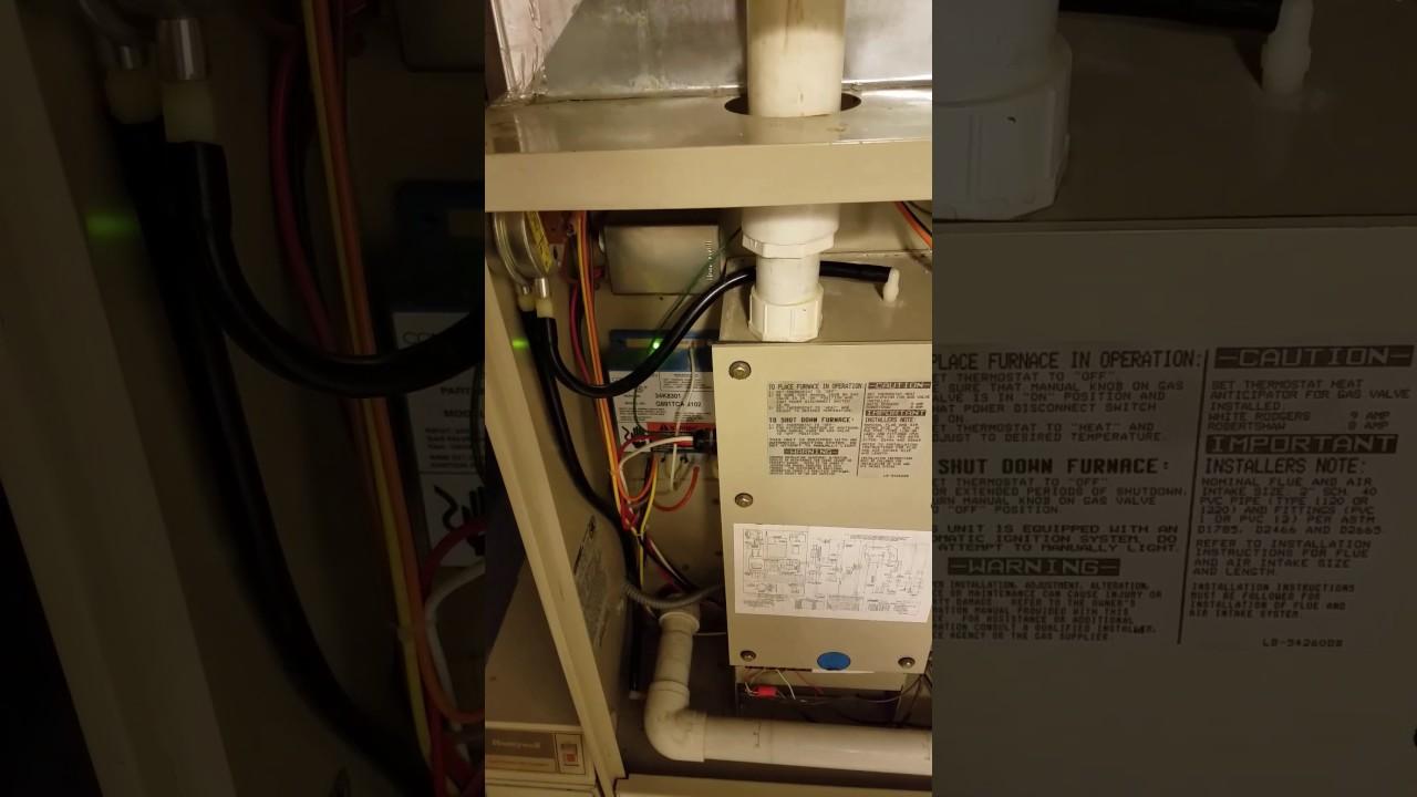 lennox pulse g14 turn on turn off turn on and again turn off [ 1280 x 720 Pixel ]